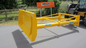 Albutt attachment example agricultural product