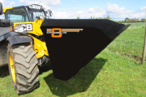 Optimus 8 agricultural bucket