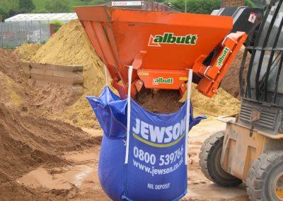 Bag Filling Bucket