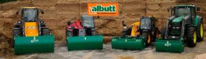 Albutt tractor lineup