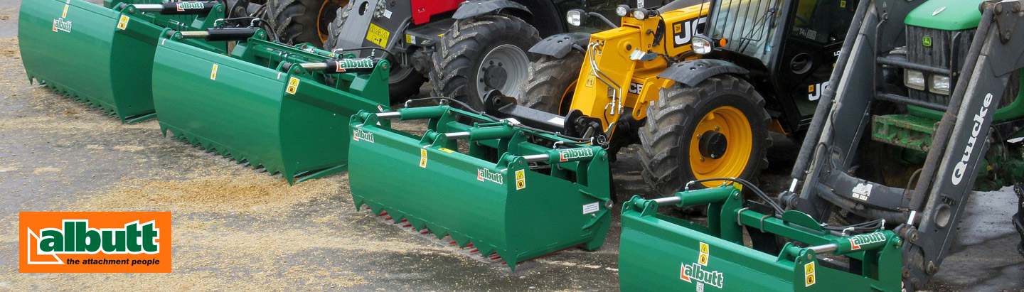 Albutt Attachments grabs